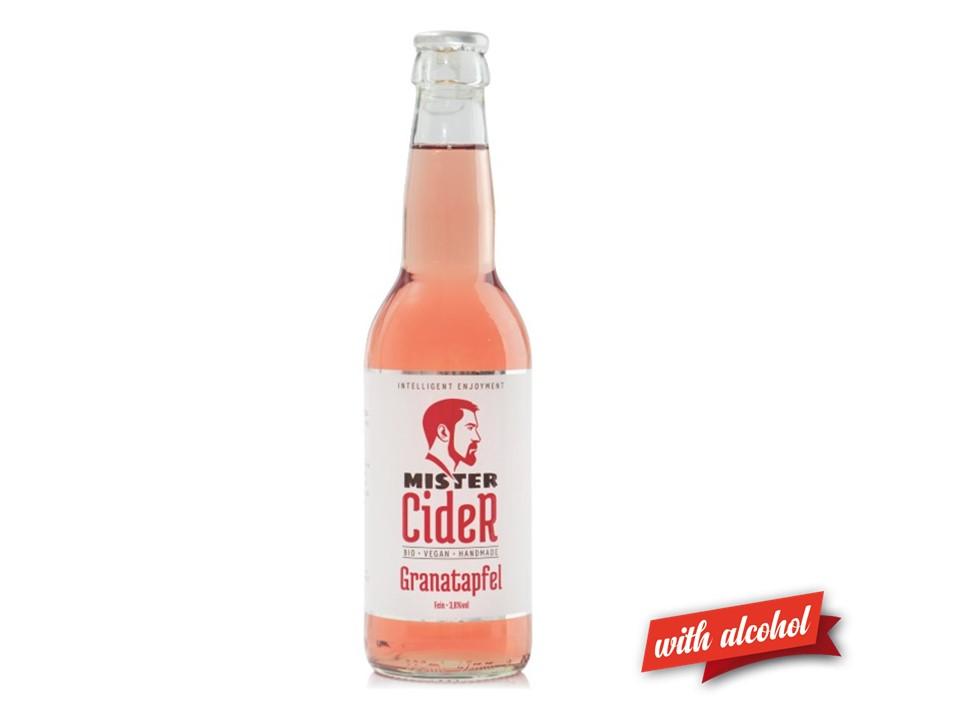 Mister Cider BIO Granatapfel,  3,8% Vol.