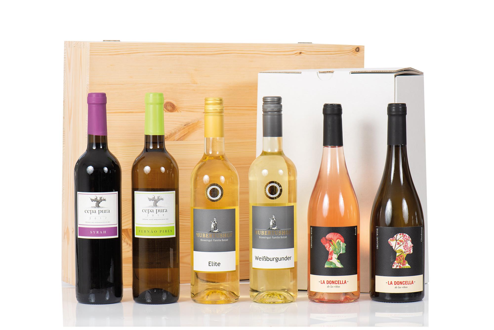 BIO Probierbox Weinreise