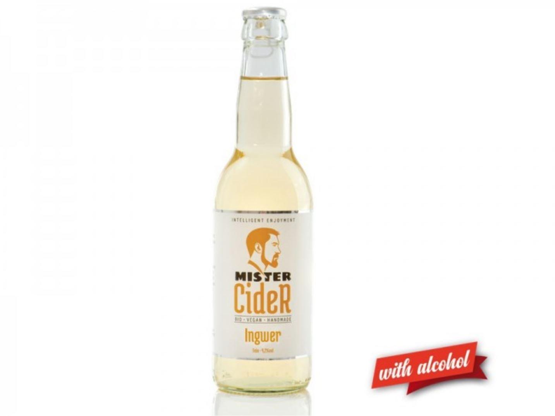 Mister Cider BIO Ingwer, 4,2% Vol.