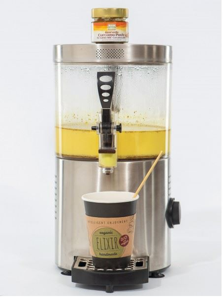 Obsthof Retter Golden-Milk Dispenser
