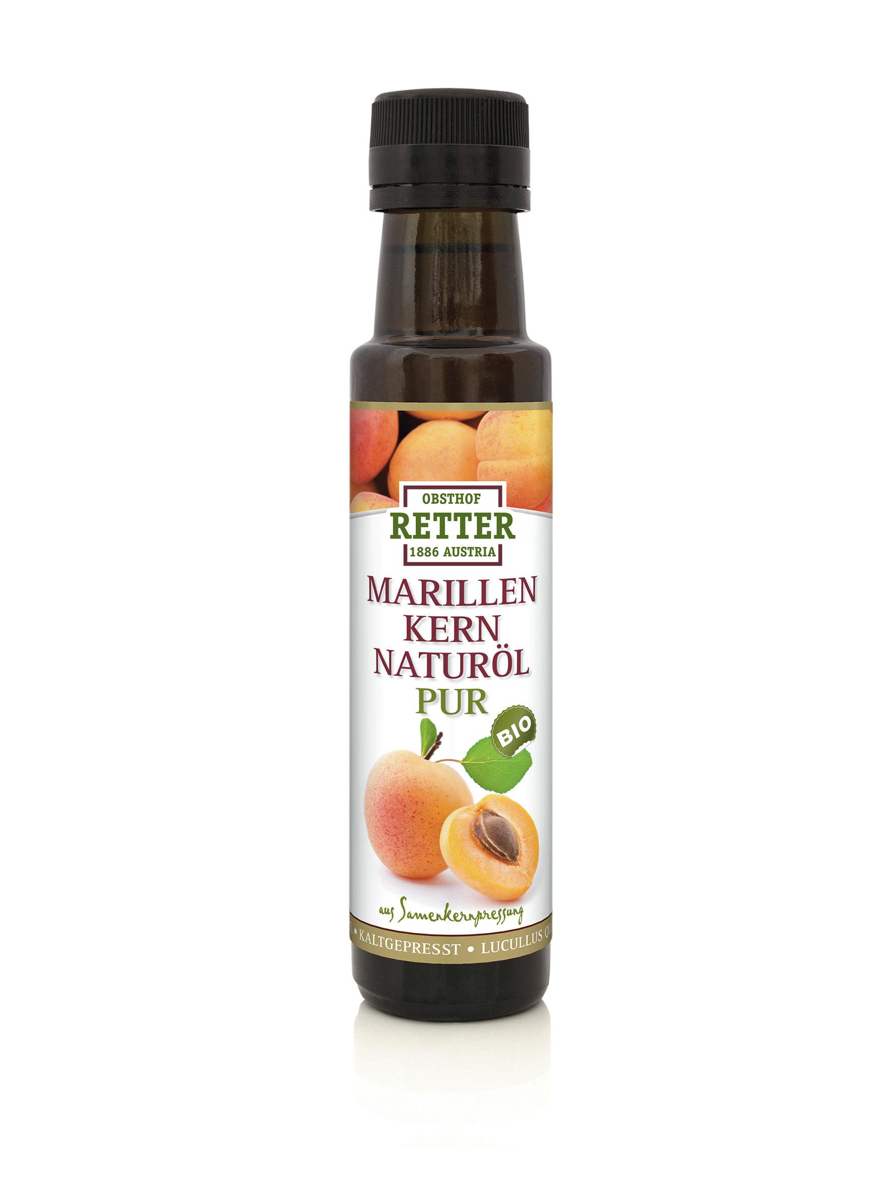 BIO Marillenkern- Naturöl, kaltgepresst