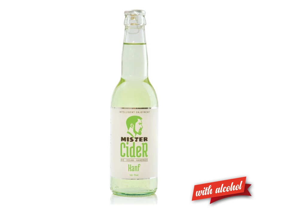 Mister Cider BIO Hanf, 4,2% Vol.