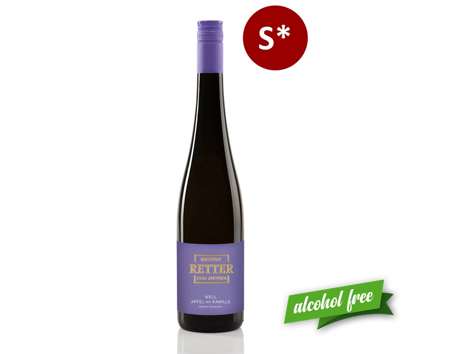 Edition Sommelier - WELL Apfel mit Kamille
